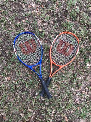 Pair - Wilson VMatrix tennis's rackets for Sale in Lake Wales, FL