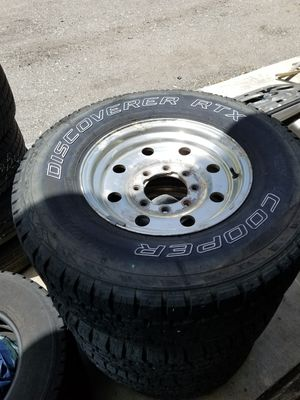 265-75-16 Cooper Tires and Rims for Sale in North Fort Myers, FL