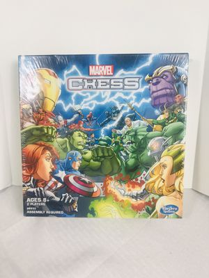 Brand new 2015 Hasbro Marvel Chess Set for Sale in Pawtucket, RI