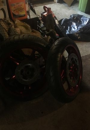 Custom Suzuki motorcycle rims for Sale in Cleveland, OH