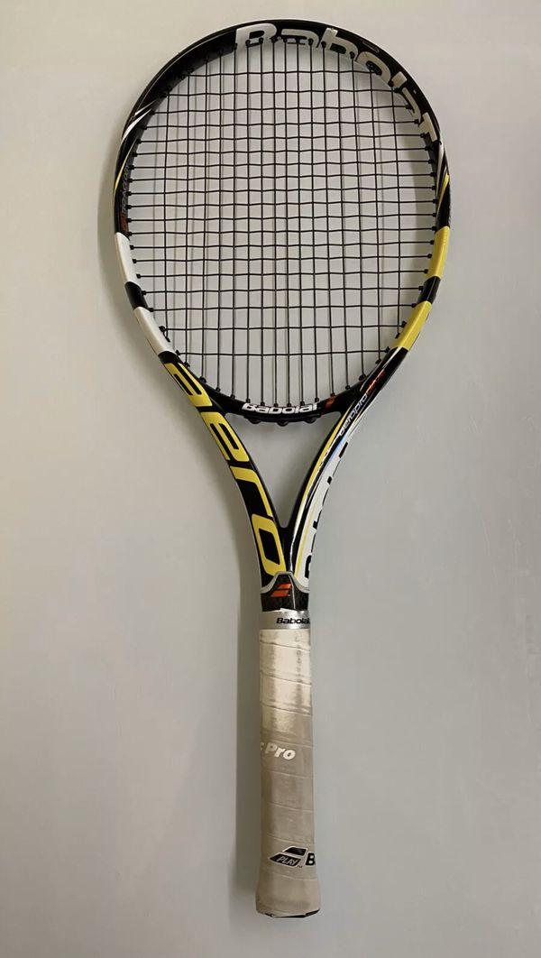 Babolat Aero Pro Drive 2014-2015 model 100 head 10.6 4 3/8 Grip Tennis Racquet