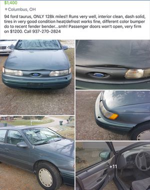 94 Ford Taurus for Sale in Canal Winchester, OH