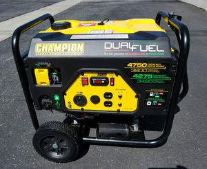 CHAMPION DUAL FUEL GENERATOR!!!!! for Sale in West Covina, CA