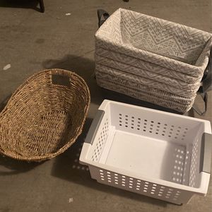 Storage Baskets/containers for Sale in Las Vegas, NV