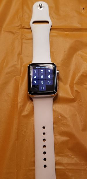 Apple Watch 42mm stainless steel for Sale in San Antonio, TX