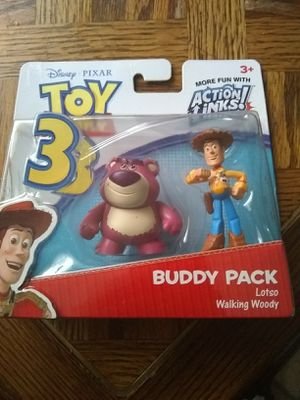 Toy story figures for Sale in Bassett, CA