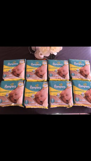 Size 1 pampers for Sale in Vernon, CA