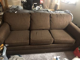 Pull out bed couch . for Sale in Denver,  CO
