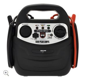 SecureAuto 600 Peak Amp Jump Starter w/ Air Compressor for Sale in Pompano Beach, FL