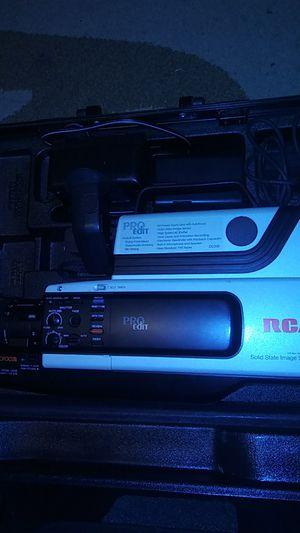RCA Pro Edit VHS Camcorder for Sale in Sumner, WA