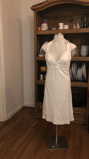 TORY BURCH White Swim Cover Up Halter Dress for Sale in St. Louis, MO