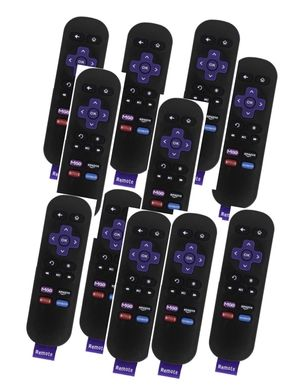 New Lot of 60 ROKU Replacement Remotes w/Amazon/Netflix/MGO/Blockbuster Shortcut Buttons for Sale in San Diego, CA