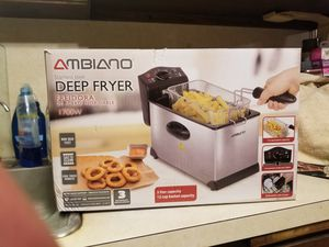New DEEP FRYER for Sale in Monrovia, MD