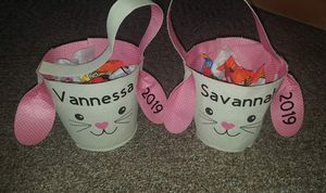 Personlized Easter baskets 5 dollars for Sale in Staunton, VA