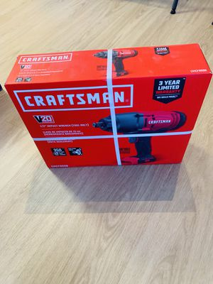 CRAFTSMAN V20 20-Volt Max 1/2-in Drive Variable Cordless Impact Wrench for Sale in Arlington, VA