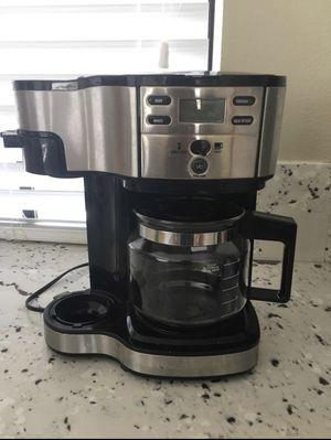 Hamilton Beach Single Serve One pot Brew coffee maker dual two in one espresso drip single serve for Sale in Seattle, WA