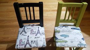 2 Children's wooden chair's for Sale in Bonney Lake, WA