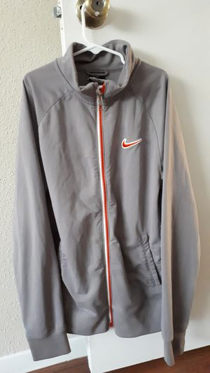 Like New Nike Jacket .Fit Medium to Large for Sale in Houston, TX