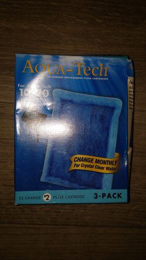 Aqua-Tech EZ-Change No.2 3-Pack Aquarium Filter Cartridge for 10 to 20 Power Filters for Sale in Grand Terrace, CA