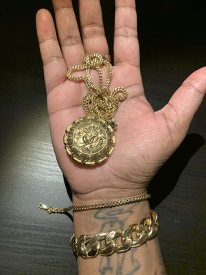 10k Chain and Bracelet Real Gold!! for Sale in TEMPLE TERR, FL