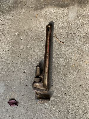 """RIDGID 18"""" pipe wrench for Sale in Chicago, IL"""
