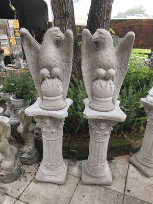 Concrete eagle set for Sale in Plant City, FL