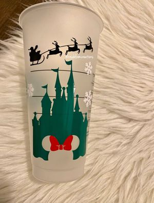 Minnie castle Starbucks cup for Sale in Bell Gardens, CA