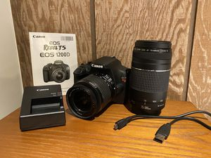 Canon EOS Rebel T5 1200D (Everything pictured!) for Sale in Queens, NY