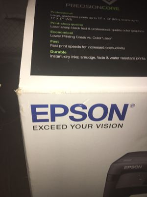 Epson Office size printer fax and scanner copier for Sale in Ferndale, MI