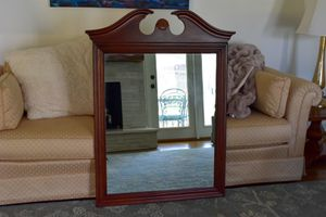 Vintage Cherry Wooden Mirror for Sale in Greenville, SC