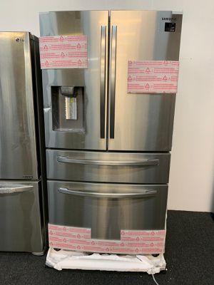 New-Samsung Four Door Refrigerator. 1 Year Warranty for Sale in Glen Burnie, MD