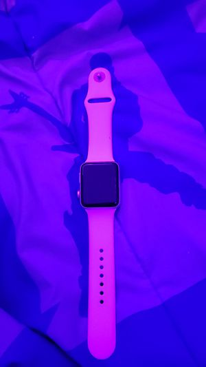 AppleWatch Series3 (GPS, 38mm) - Silver Aluminium Case with White Sport Band CHECK DESCRIPTION for Sale in Germantown, MD