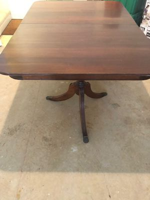 Antique solid cherry dining table for Sale in Fairfax, VA