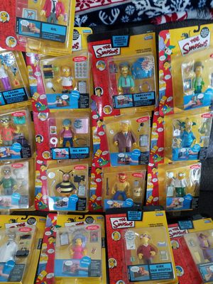 Simpsons action figures for Sale in Magna, UT