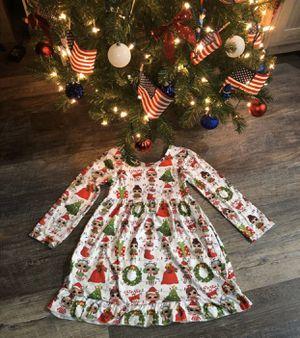 *PENDING PICKUP* Girls size 6 LOL Christmas dress for Sale in Joliet, IL
