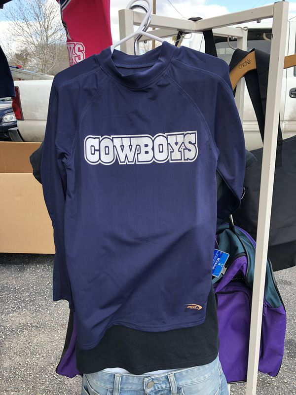 c22a1740 2-Dallas Cowboys Dri-fit long sleeve shirts / youth size for Sale in San ...
