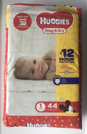 HUGGIES Size 1 Diapers for Sale in Charlotte, NC