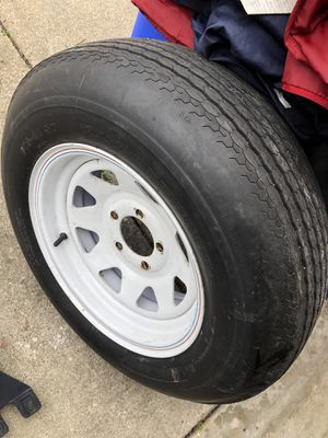 Trailer wheel & tire for Sale in Costa Mesa, CA