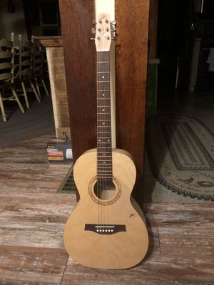 Seagull Excursion parlor guitar with case for Sale in Allentown, NJ