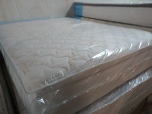 $350 king set pillow top brand new free delivery same day for Sale in West Park, FL