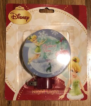 Disney Tinkerbell night light for Sale in Los Angeles, CA