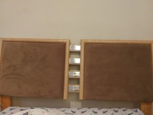 MOVING MUST GO!!! Headboard, dresser w/ mirror and night stand for sale for Sale in Washington, DC
