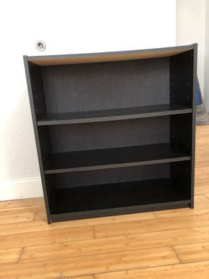 Bookcase/Shelf, Dark Brown, Small for Sale in North Bay Village, FL