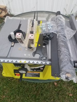 Ryobi 15 amp table saw for Sale in Mansfield, TX