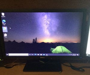 """23"""" DELL WIDESCREEN MONITOR for Sale in March Air Reserve Base, CA"""