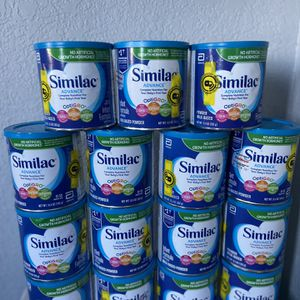 15 Cans Similac Advance Formula New for Sale in Maple Valley, WA
