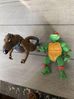 Ninja turtles action figure bundle for Sale in Stoughton, MA