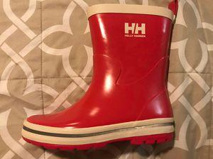 Helly Hansen JK Midsund Kids rain boots Size 2 for Sale in Fairfax, VA