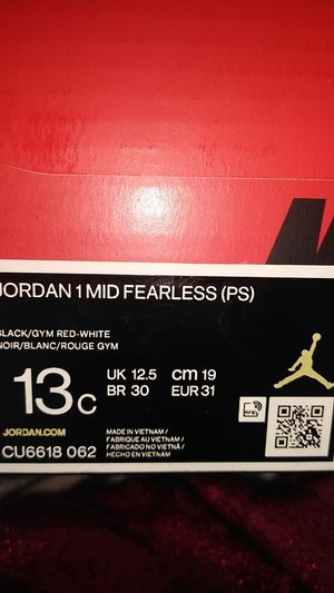 Jordan 1 MiD Fearless kid shoes for Sale in Pittsburg, CA