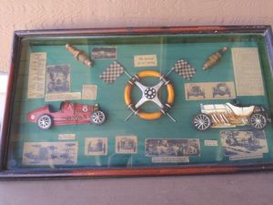 Shadow box - The history of car racing for Sale in Spring Valley, CA